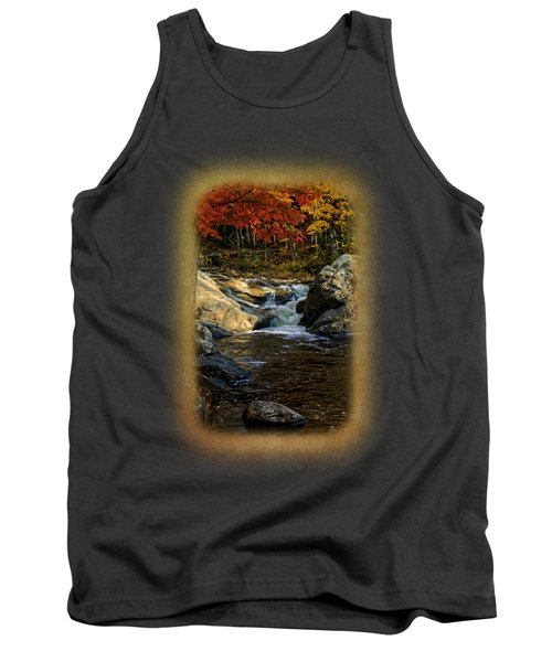 Stream In Autumn No.17 Tank Top by Mark Myhaver