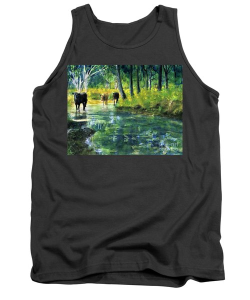 Streaming Cows Tank Top