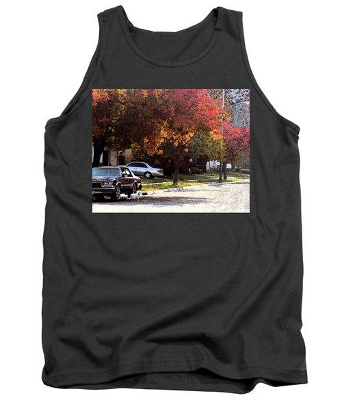 Street Cat Tank Top
