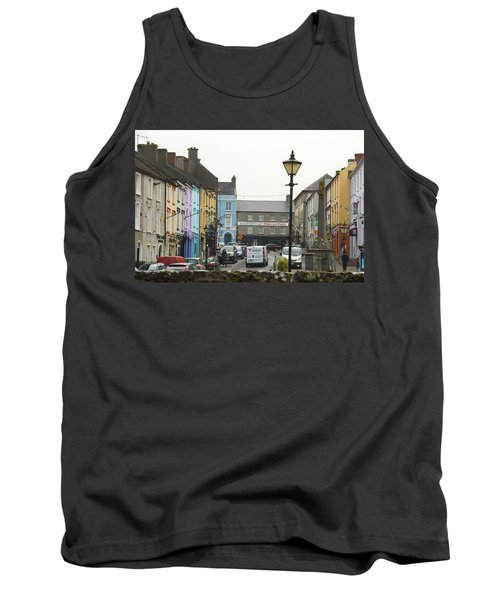 Tank Top featuring the photograph Streets Of Cahir by Marie Leslie