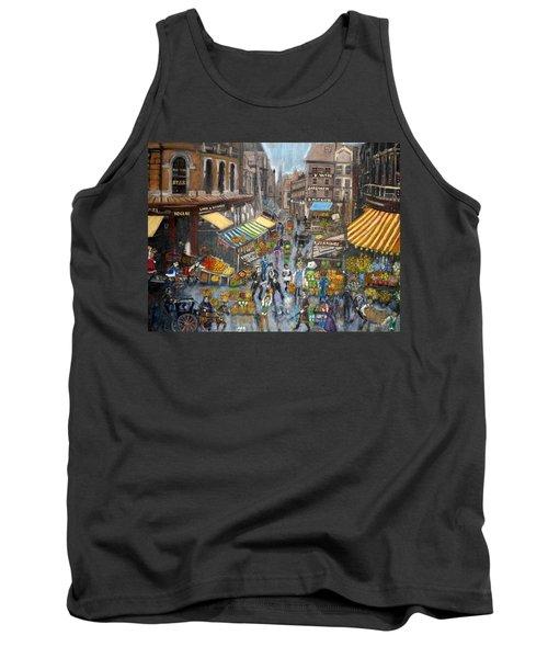 Street Scene Market Tank Top