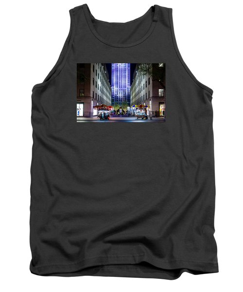 Tank Top featuring the photograph Rockefeller Center by M G Whittingham