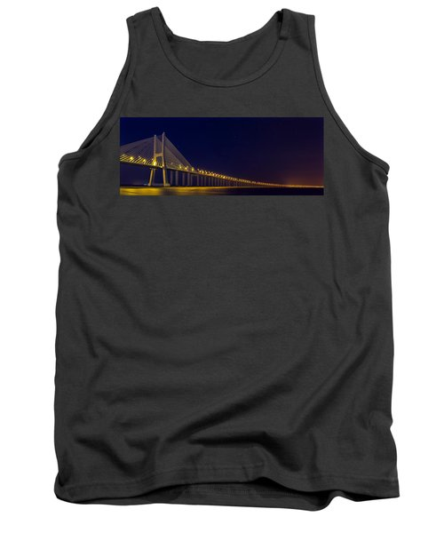 Stretching Into Infinity Tank Top