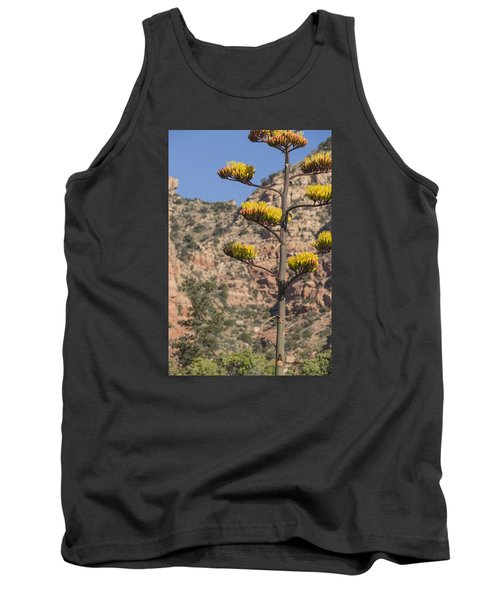 Tank Top featuring the photograph Stretching Tall by Laura Pratt