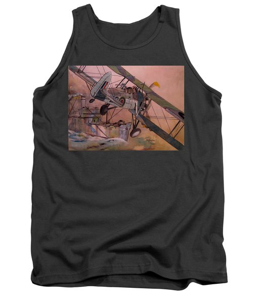 String Bag. Tank Top by Ray Agius
