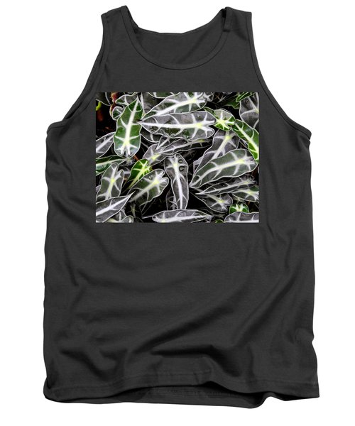 Tank Top featuring the photograph Stripes And Droplets by Lynda Lehmann