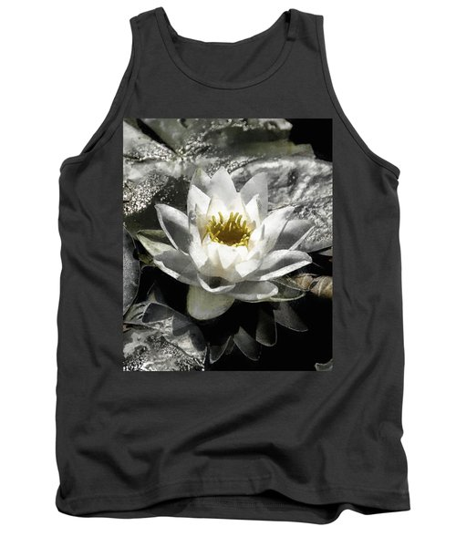 Strokes Of The Lily Tank Top