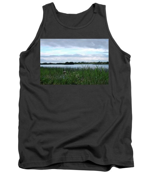 Tank Top featuring the photograph Strolling By The Lake by Terence Davis