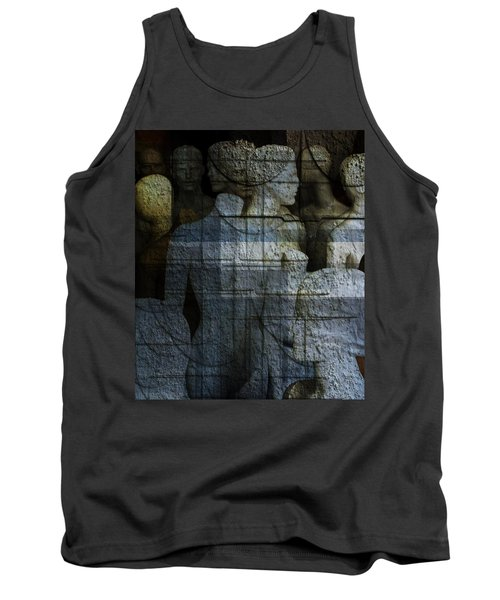 Strong, Fearless, Beautiful  Tank Top by Danica Radman