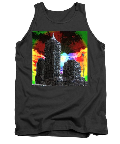 Structural Dissonance Tank Top by Iowan Stone-Flowers