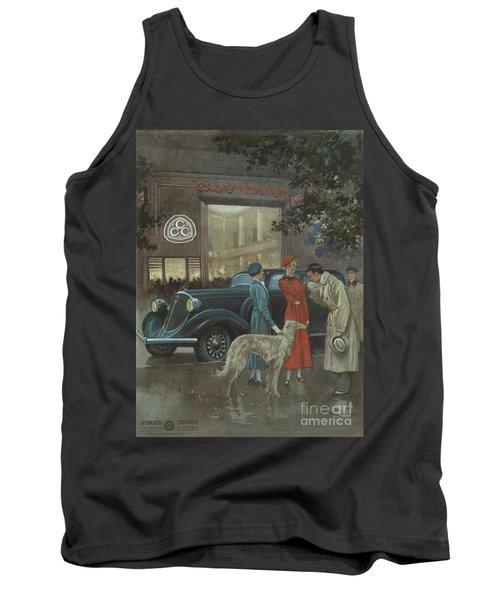 Studebaker #8704 Tank Top