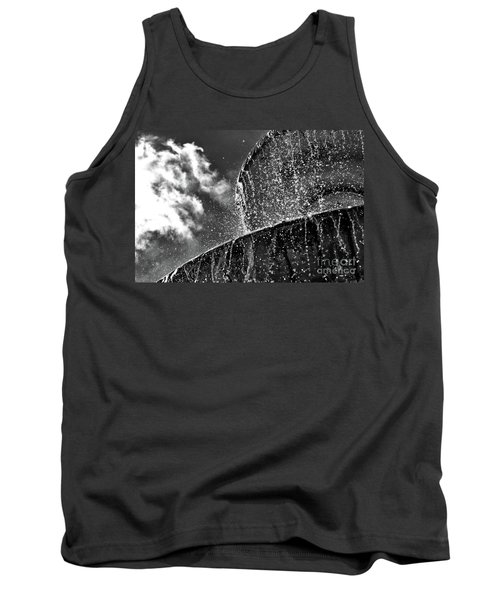 Students Fountain Tank Top by Juergen Klust
