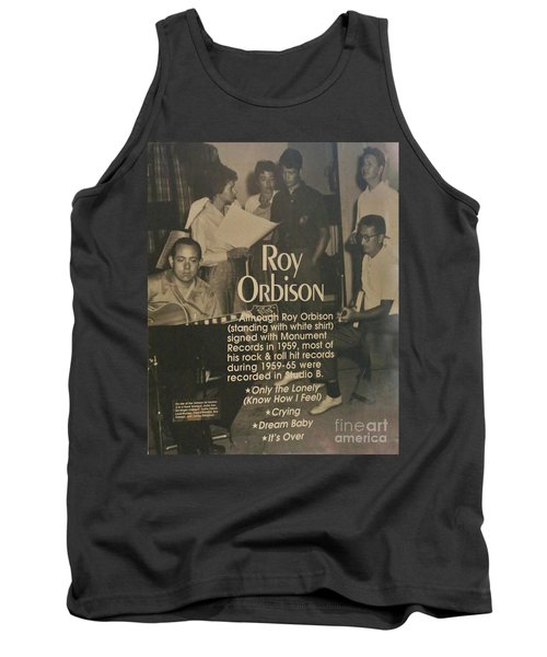 Studio B Roy Orbison  Tank Top