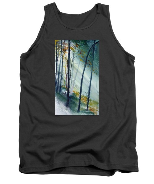 Study The Trees Tank Top by Allison Ashton