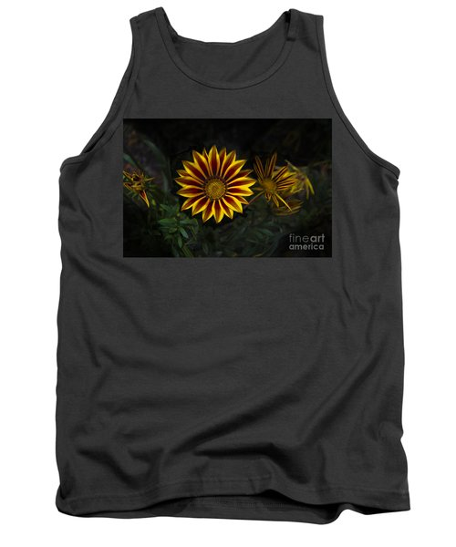 Stunning Flowers Abound Here Tank Top