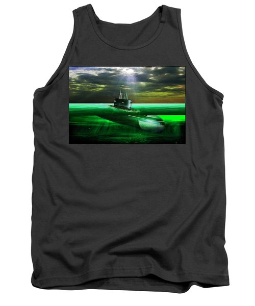 Submarine Tank Top by Michael Cleere