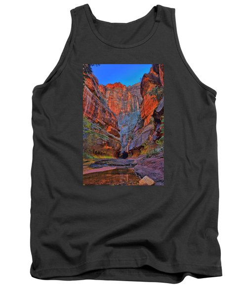 Tank Top featuring the photograph Subway Entrance by Greg Norrell