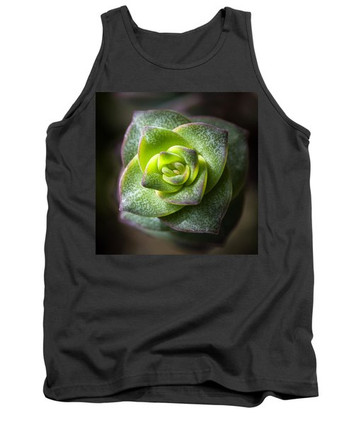 Succulent Plant Tank Top by Catherine Lau