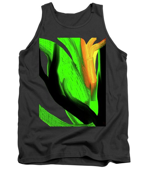 Succulents Tank Top by Asok Mukhopadhyay