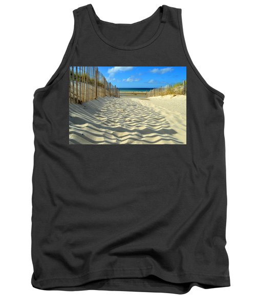 Sultry September Beach Tank Top