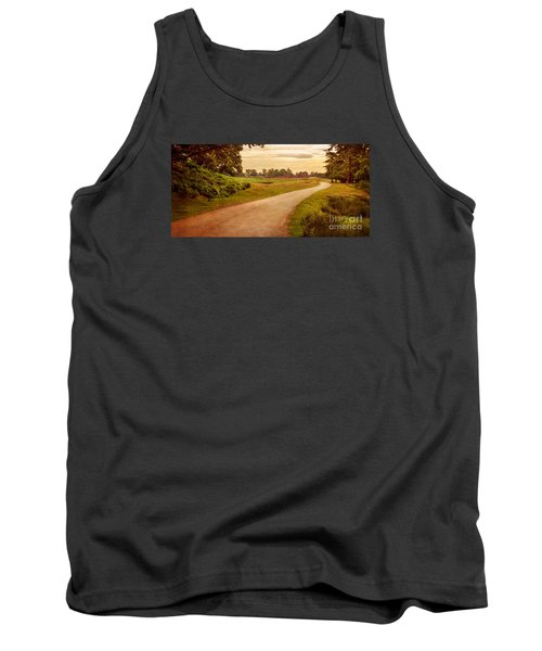 Summer At Bradgate Park Leicestershire Tank Top by Linsey Williams