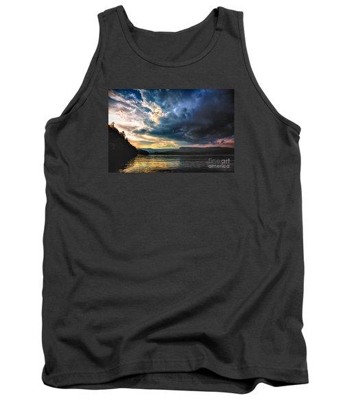 Summer At Lake James Tank Top by Robert Loe