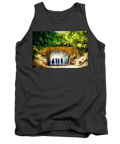 Summer At Tunnel Park Tank Top