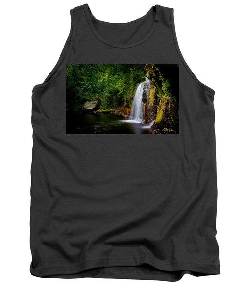 Summer At Wolf Creek Falls Tank Top