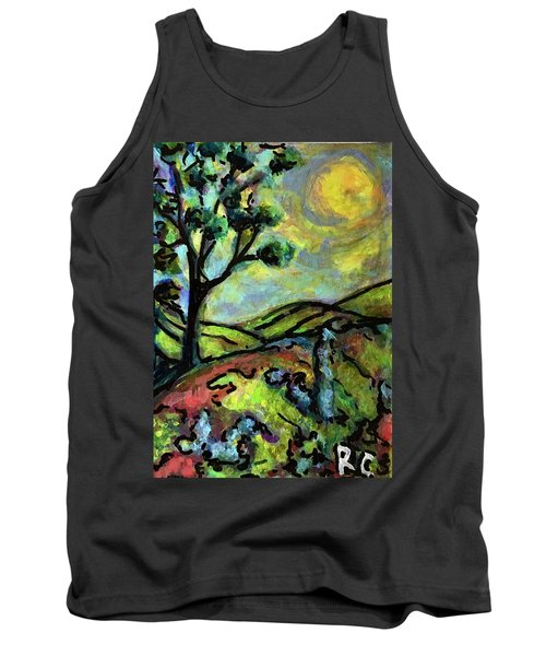 Summer Day Tank Top by Rae Chichilnitsky
