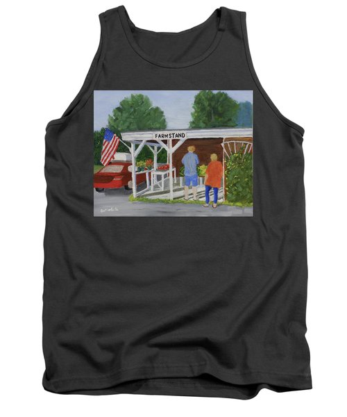 Summer Farm Stand Tank Top
