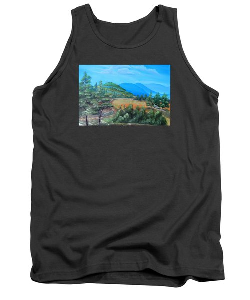 Summer Fields 2 Tank Top by Remegio Onia