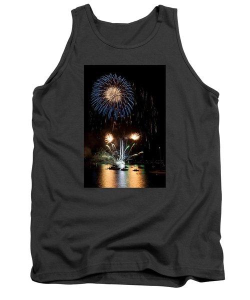 Summer Fireworks I Tank Top by Helen Northcott