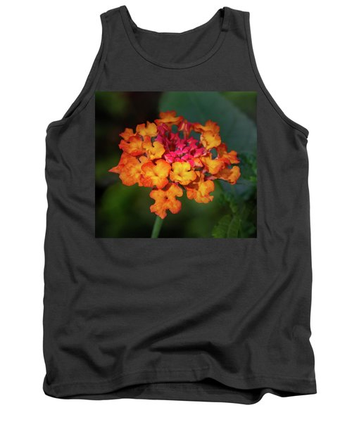 Summer Floral Colors Tank Top