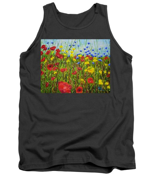 Summer Flowers Tank Top