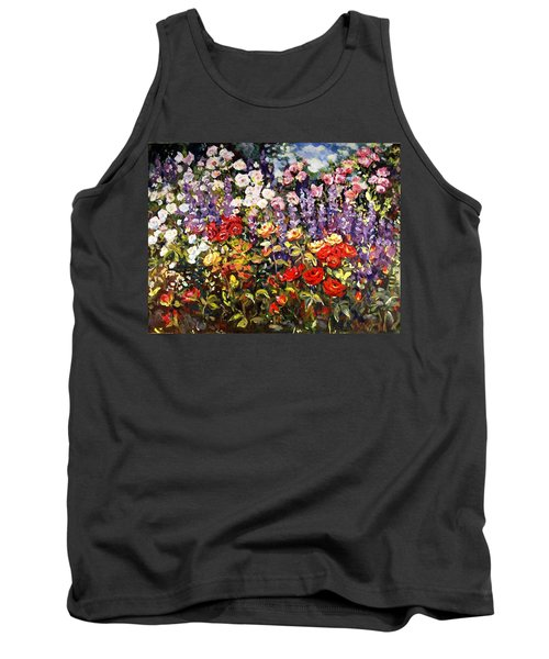 Summer Garden II Tank Top