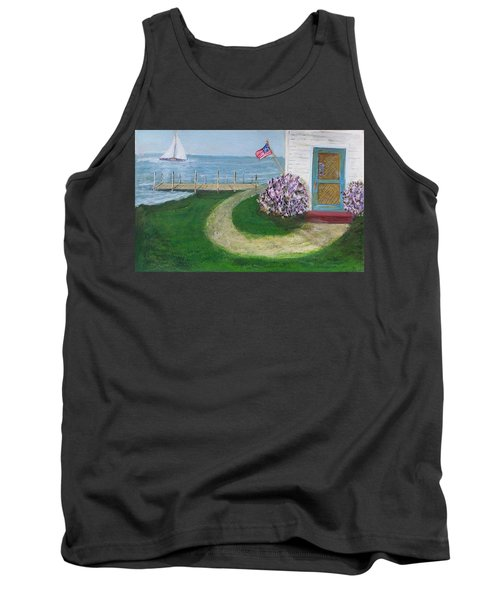 Summer Home In Maine Tank Top
