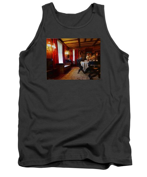 Summer House Tank Top by Mikki Cucuzzo
