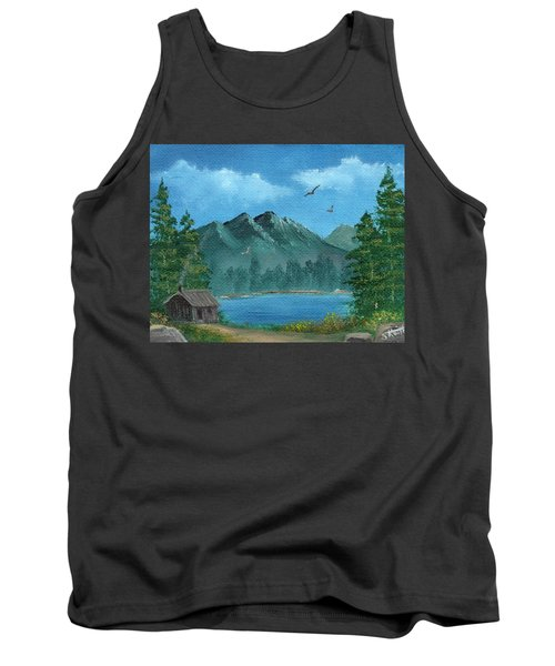 Summer In The Mountains Tank Top by Sheri Keith