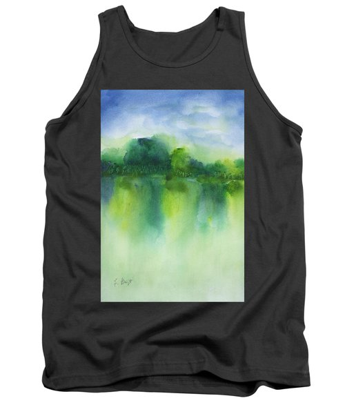 Summer Landscape Tank Top