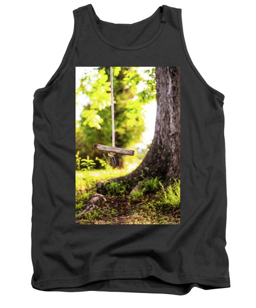 Tank Top featuring the photograph Summer Memories On The Farm by Shelby Young