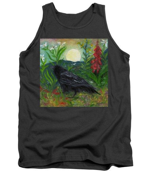 Summer Moon Raven Tank Top