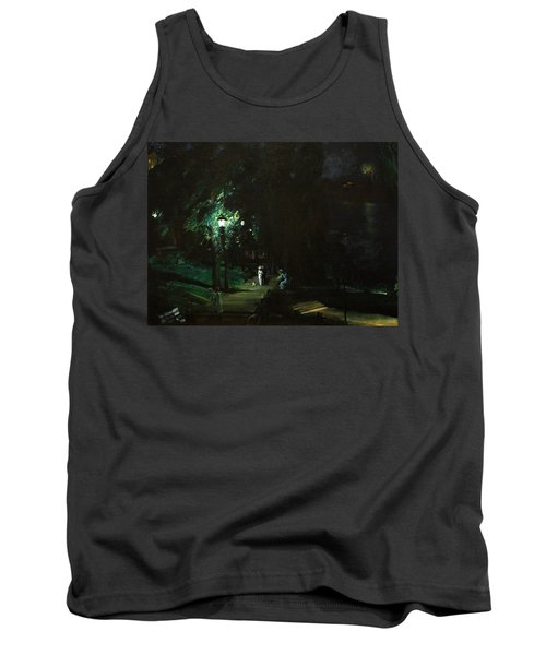 Summer Night Riverside Drive Tank Top