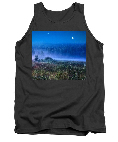 Tank Top featuring the photograph Summer Night by Vladimir Kholostykh
