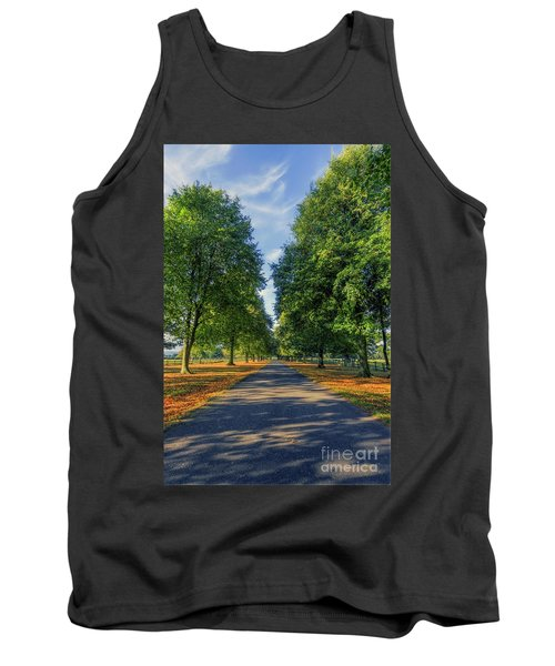 Summer Road Tank Top by Ian Mitchell