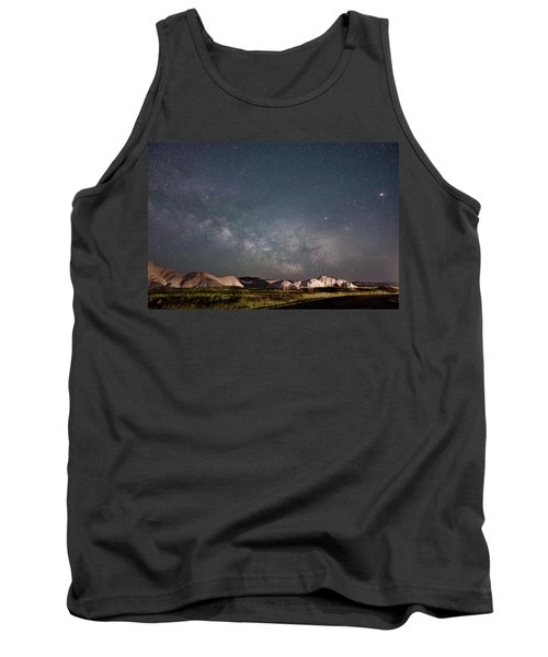 Summer Sky At Badlands  Tank Top