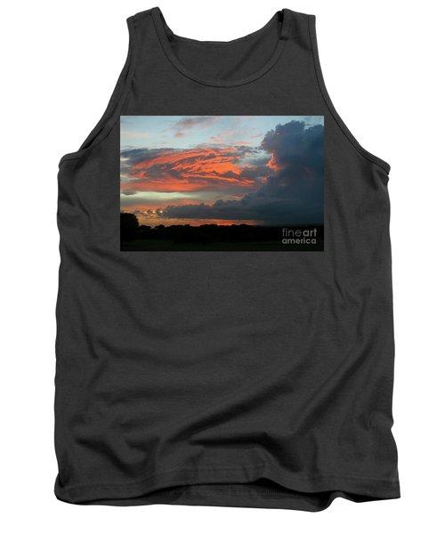Summer Sky On Fire  Tank Top