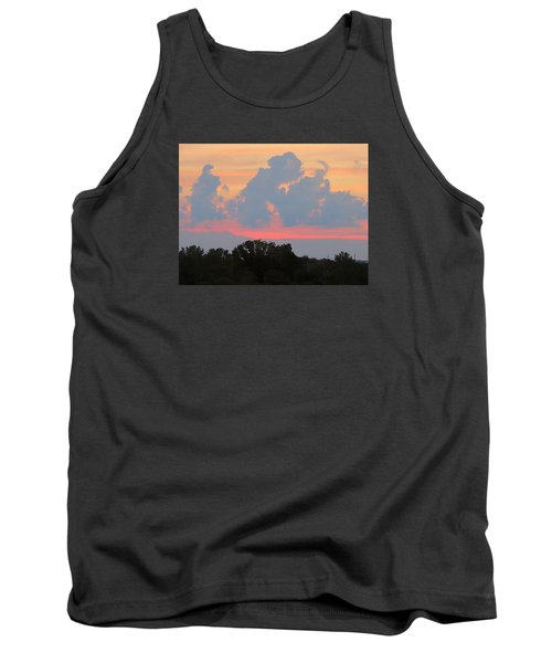 Tank Top featuring the photograph Summer Sunset In Missouri by Robin Regan