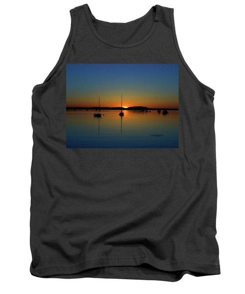 Summer Sunset Monument Beach Tank Top