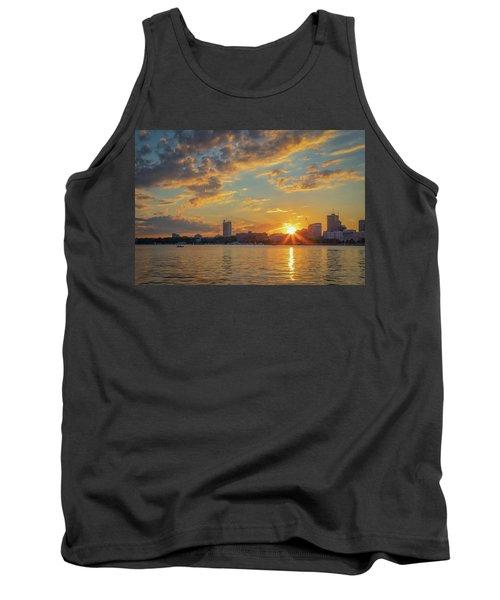Summer Sunset Over Cambridge Tank Top