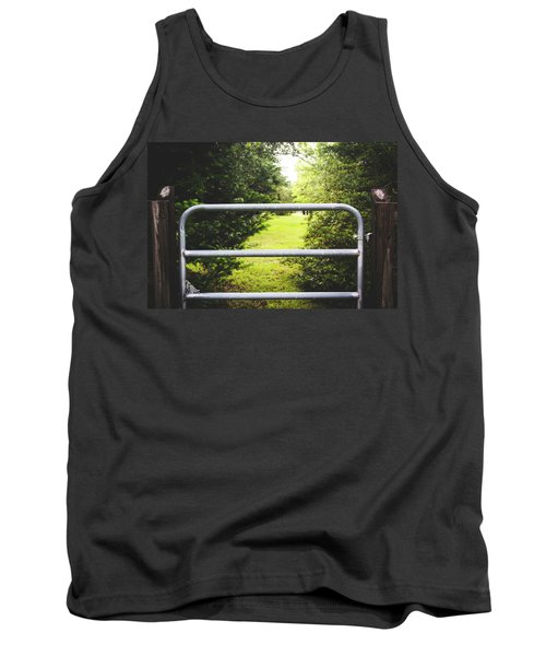 Tank Top featuring the photograph Summer Vibes On The Farm by Shelby Young
